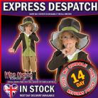 Fancy Dress Costume Book Week ~ Boys Victorian Pick Pocket Artful Dodger Large Age 7-8